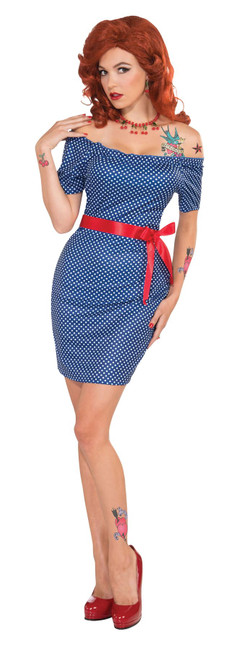 Betty Blue Dress Retro