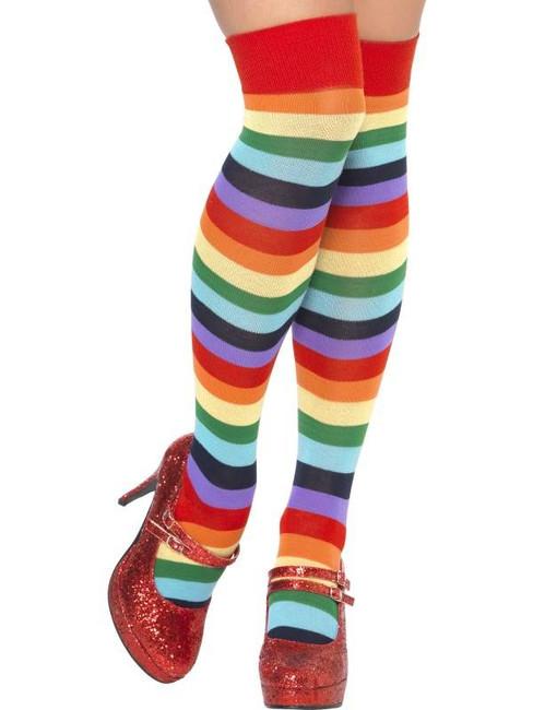 Clown Socks, Long.  One Size