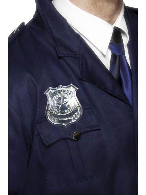Metal Police Badge.