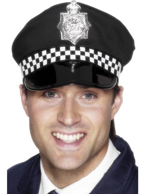 Police Panda Cap, One Size