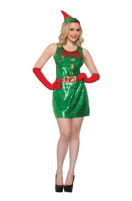 Elf Dress Sequin (M / L)