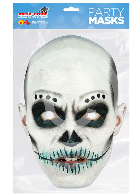 Day of the Dead Card Mask Skull