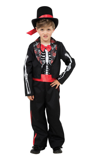 Medium size Day of the Dead Costume