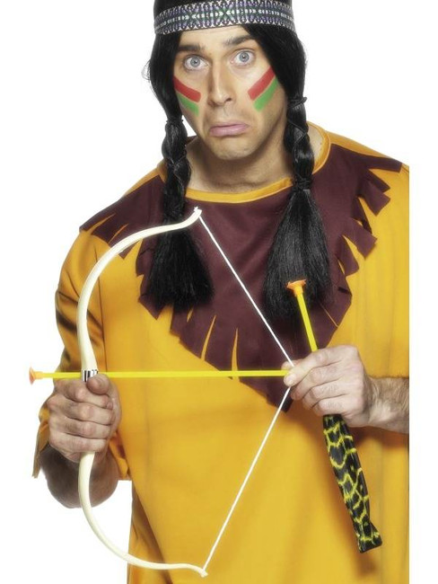 Indian Bow and Arrow Set.