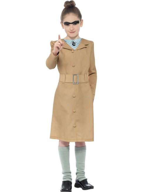 Roald Dahl Miss Trunchbull Costume,Licensed Fancy Dress,Small Age 4-6