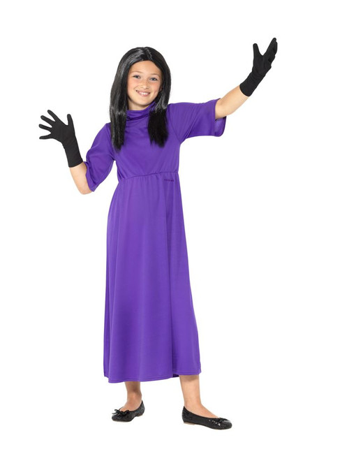 Roald Dahl Deluxe The Witches Costume, Licensed Fancy Dress, Small Age 4-6