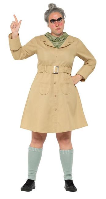 Roald Dahl Deluxe Miss Trunchbull Costume,Licensed Fancy Dress,UK Size 16-18
