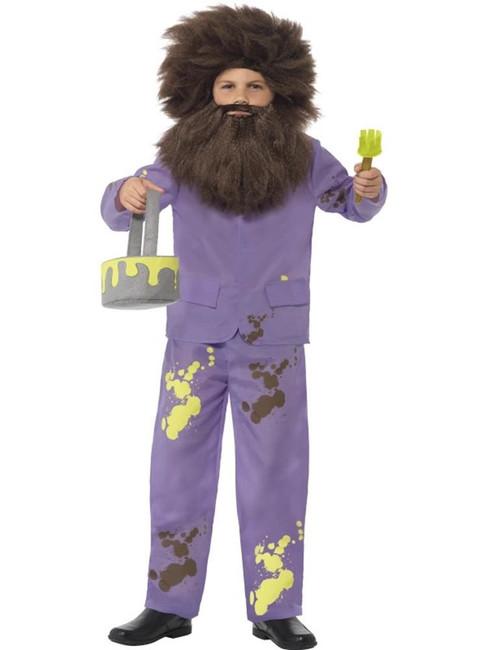 Roald Dahl Mr Twit Costume, Large Age 10-12, Children's Fancy Dress, Boys