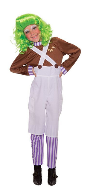 CHOCOLATE FACTORY WORKER (MEDIUM AGE 6-8), CHILDRENS COSTUMES, FANCY DRESS
