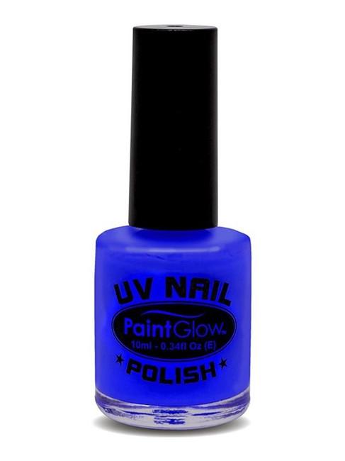 UV Nail Polish, Adult Fancy Dress Costumes, BLUE