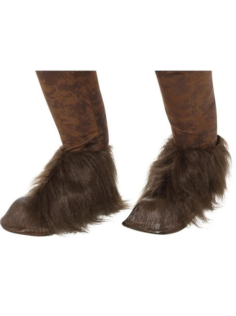 Beast/Krampus Demon Hoof Shoe Covers,Halloween Fancy Dress Accessories