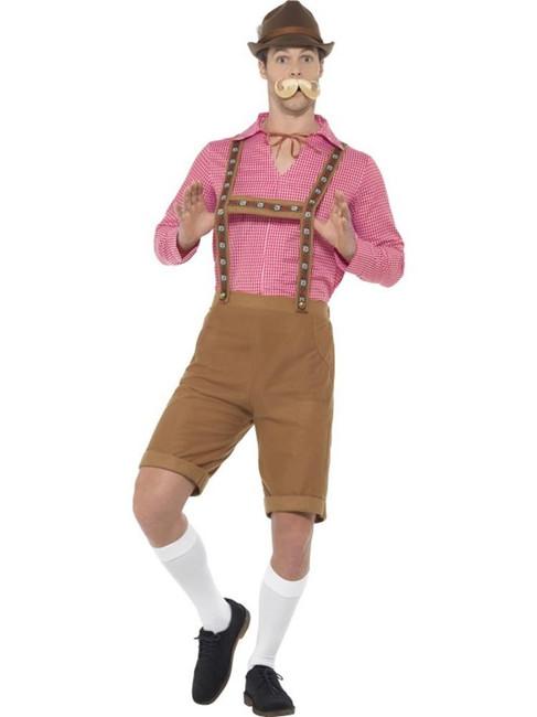 Mr Bavarian Costume, Oktoberfest Beer Festival Fancy Dress, Large