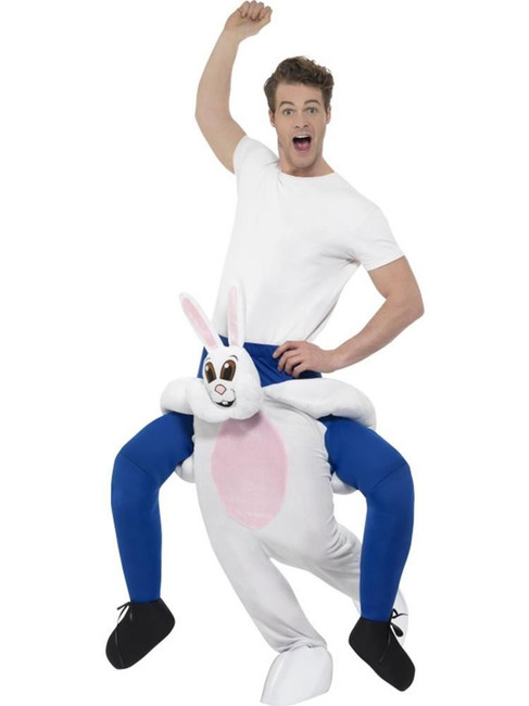 Piggyback Rabbit Costume, Fancy Dress, One Size