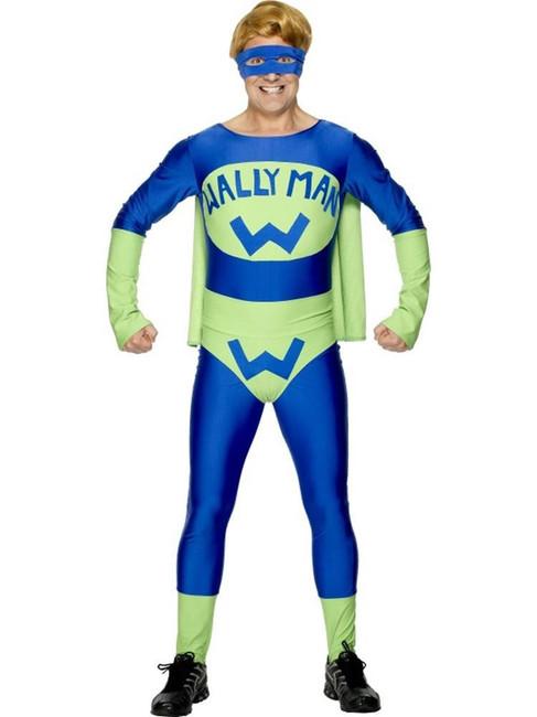 Wallyman Costume,Fancy Dress, Medium