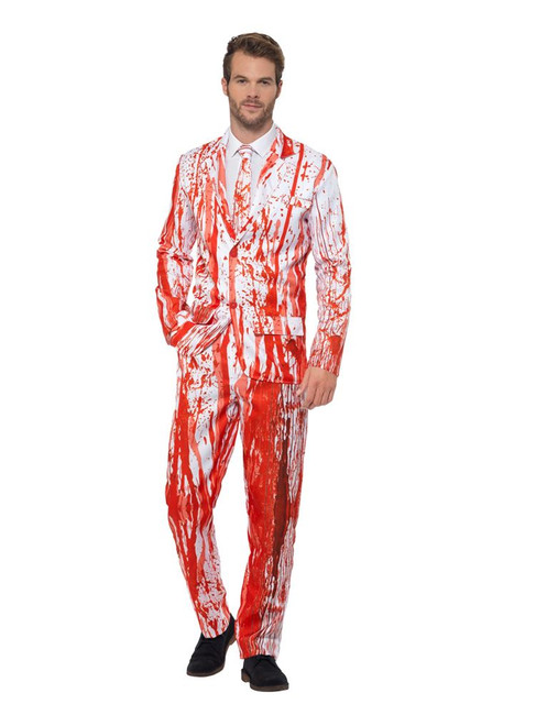 Blood Drip Suit, Stand Out Suits Fancy Dress, Large