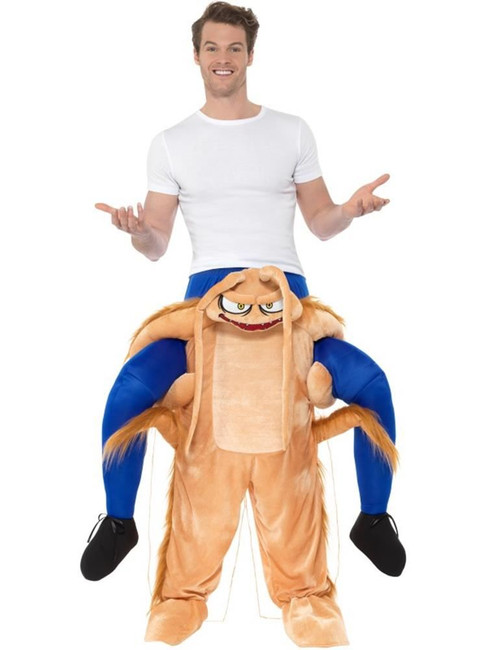 Piggyback Cockroach Costume, Fancy Dress, One Size
