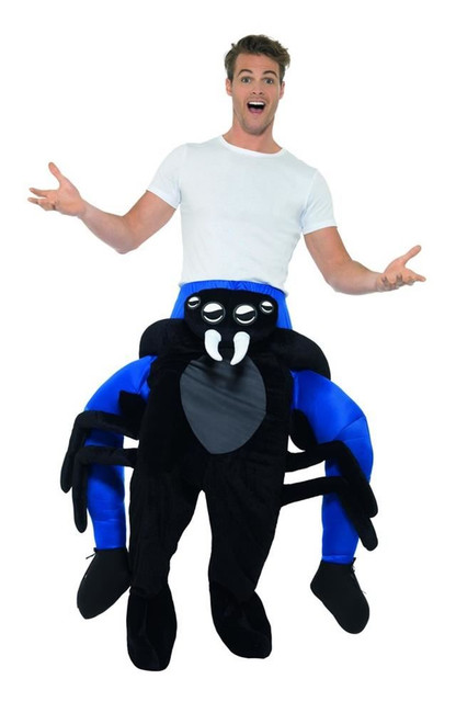Piggyback Spider Costume, Fancy Dress, One Size