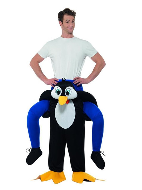 Piggyback Penguin Costume, Fancy Dress, One Size