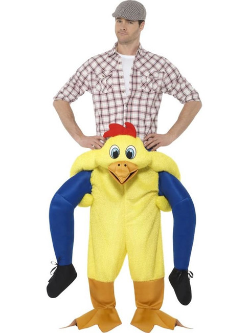 Piggyback Chicken Costume, Fancy Dress, One Size