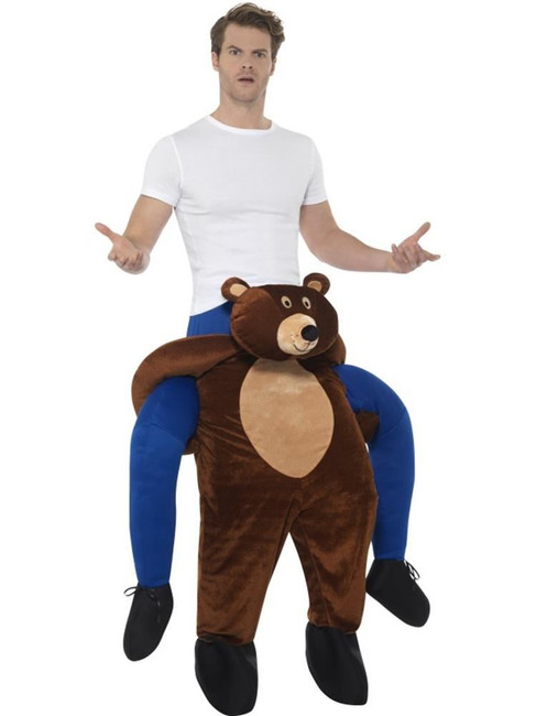 Piggyback Bear Costume, Fancy Dress, One Size