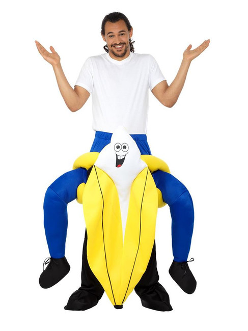 Piggyback Banana Costume, Fancy Dress, One Size