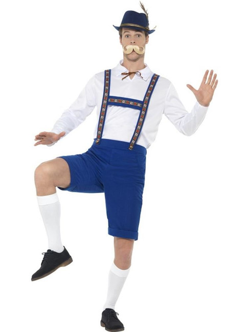 Bavarian Costume, Oktoberfest Fancy Dress, XL