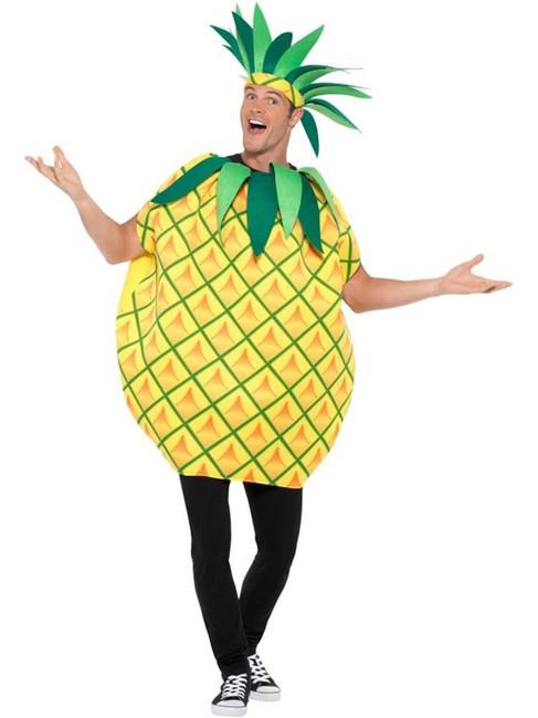Pineapple Tabard Costume, Fancy Dress, One Size