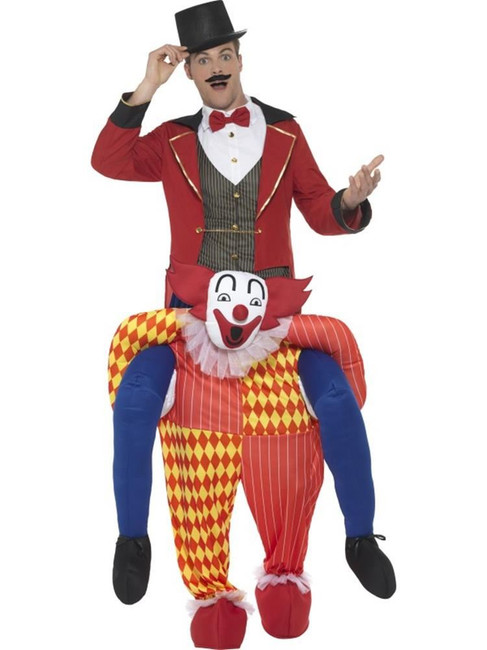 Piggyback Clown Costume, Fancy Dress, One Size