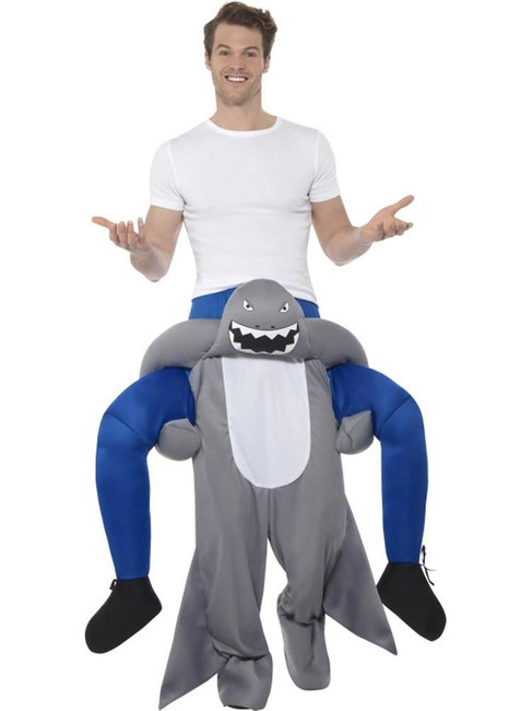 Piggyback Shark Costume, Fancy Dress, One Size