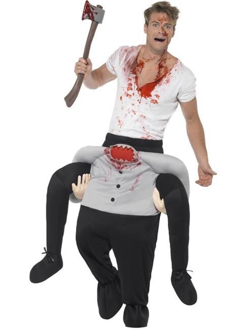 Piggyback Headless Costume, Halloween Adult Fancy Dress, One Size