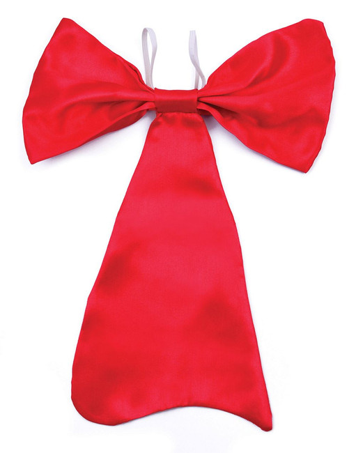Bow Tie. Large Red