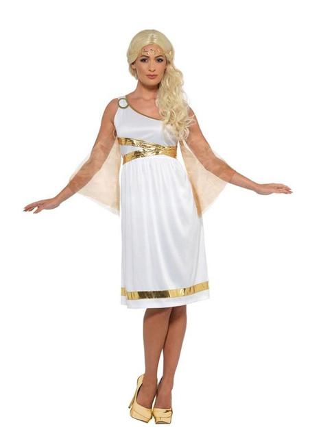 Grecian Costume, Roman/Greek/Toga Fancy Dress, UK Size 12-14