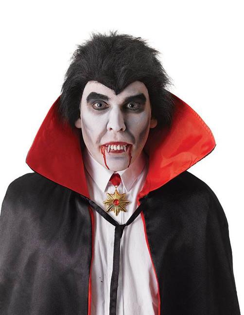 Dracula Teeth Silver Fangs/Thermoplastic.