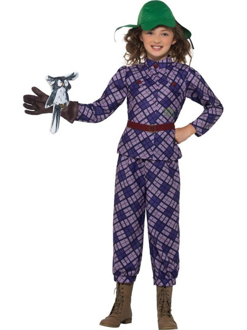 David Walliams Deluxe Awful Auntie Costume, Fancy Dress,Medium Age 7-9