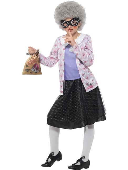 David Walliams Deluxe Gangsta Granny Costume, Fancy Dress,Medium Age 7-9