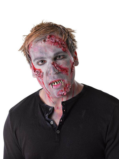 Zombie Teeth With Thermoplastic.