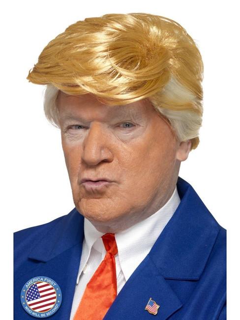 Donald Trump Wig, USA President, POTUS