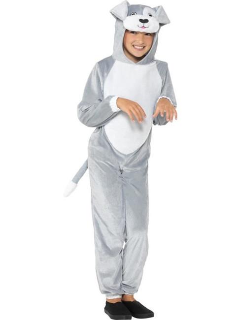 Dog Costume, Children's Animal Fancy Dress, Large Age 10-12