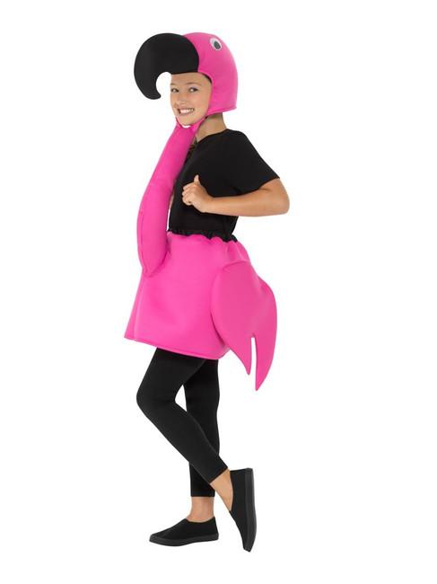 Kids Flamingo Costume, Children's Animal Fancy Dress, Medium Age 7-9