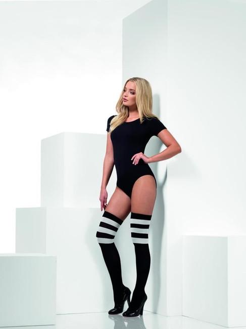 Cheerleader Opaque Hold Ups, Fever Hosiery, UK Size 6-14