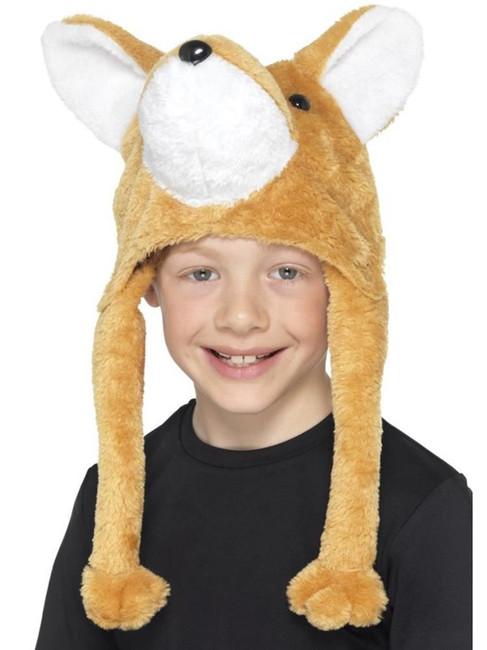 Fox Hat Orange, Children's Animal Fancy Dress, Book Week, One Size