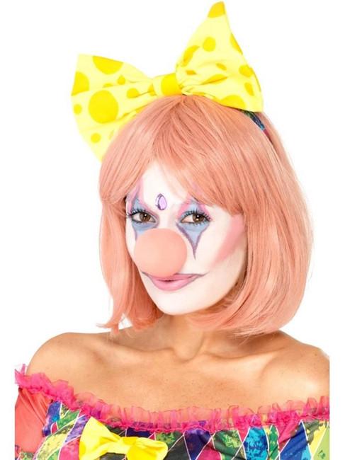 Pretty Clown Facepaint Kit 4 Colours Glitter Tube Nose Gem Sponge Brush