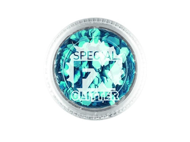 Confetti Glitter Blue 2g Loose, Facepaint/Makeup