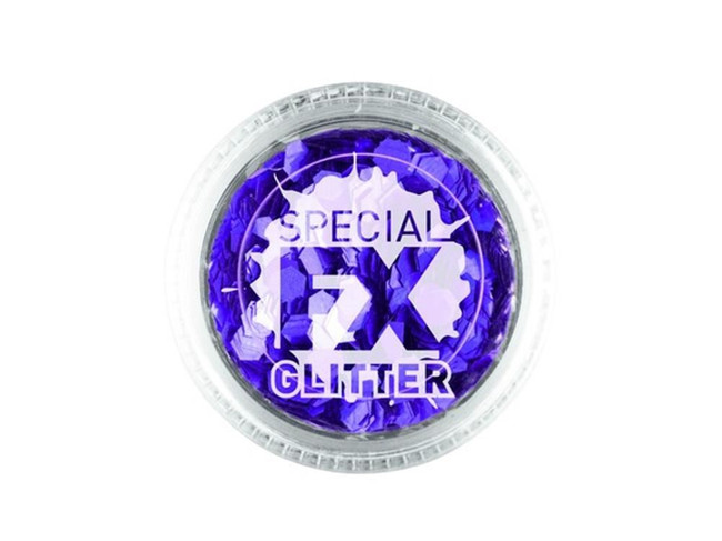Confetti Glitter Purple 2g Loose, Facepaint/Makeup