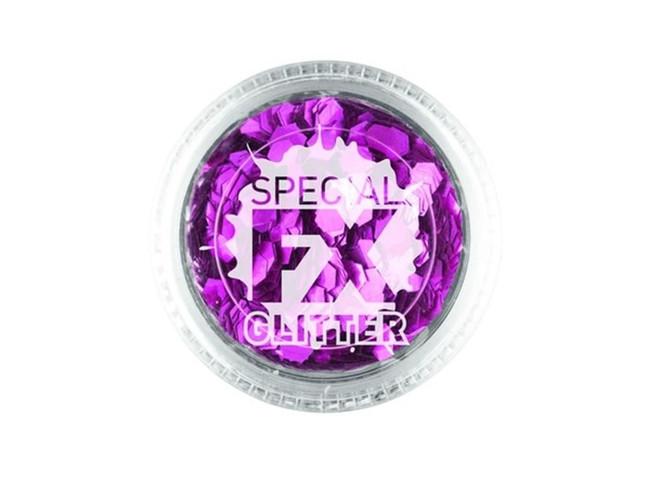 Confetti Glitter Pink 2g Loose, Facepaint/Makeup