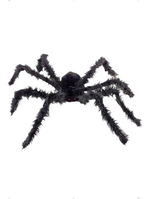 Giant Hairy Spider  Light Up Eyes.