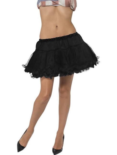 Short Petticoat, Black