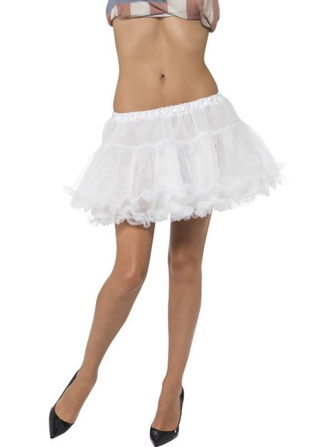 Short Petticoat, White