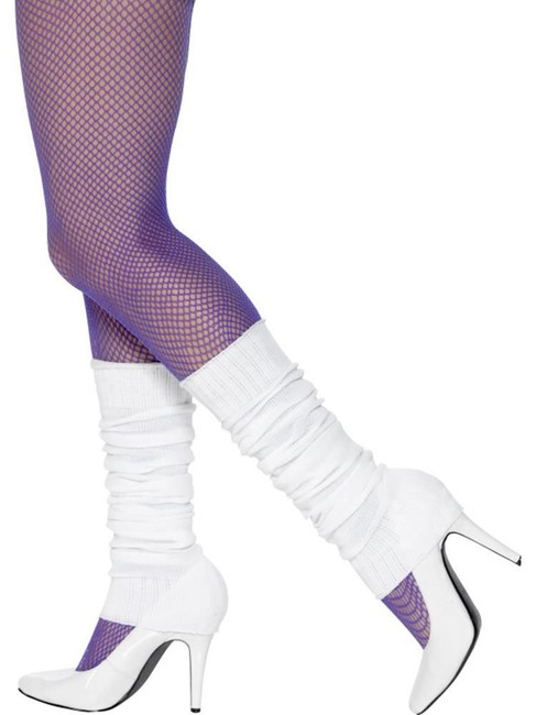 Legwarmers, Adult Fancy Dress Costumes, WHITE