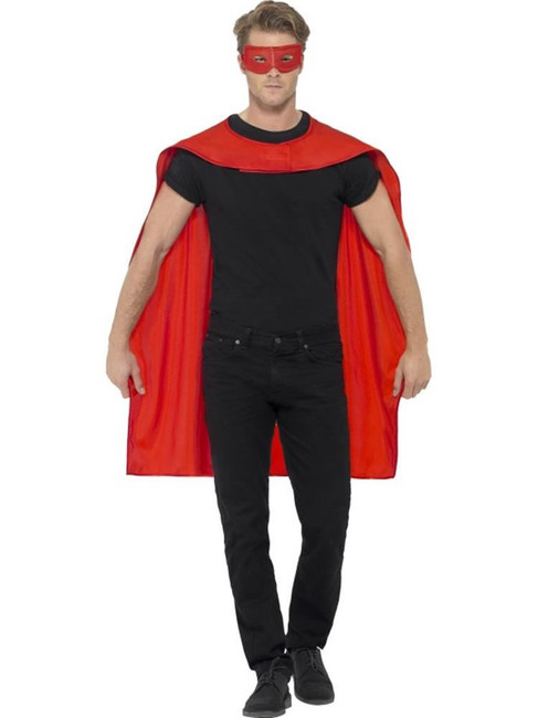 Cape, Halloween Fancy Dress, RED